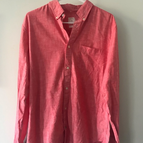 GAP Other - Pink Button-Up